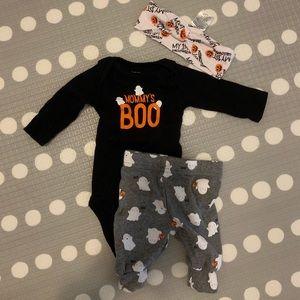 Newborn first Halloween outfit
